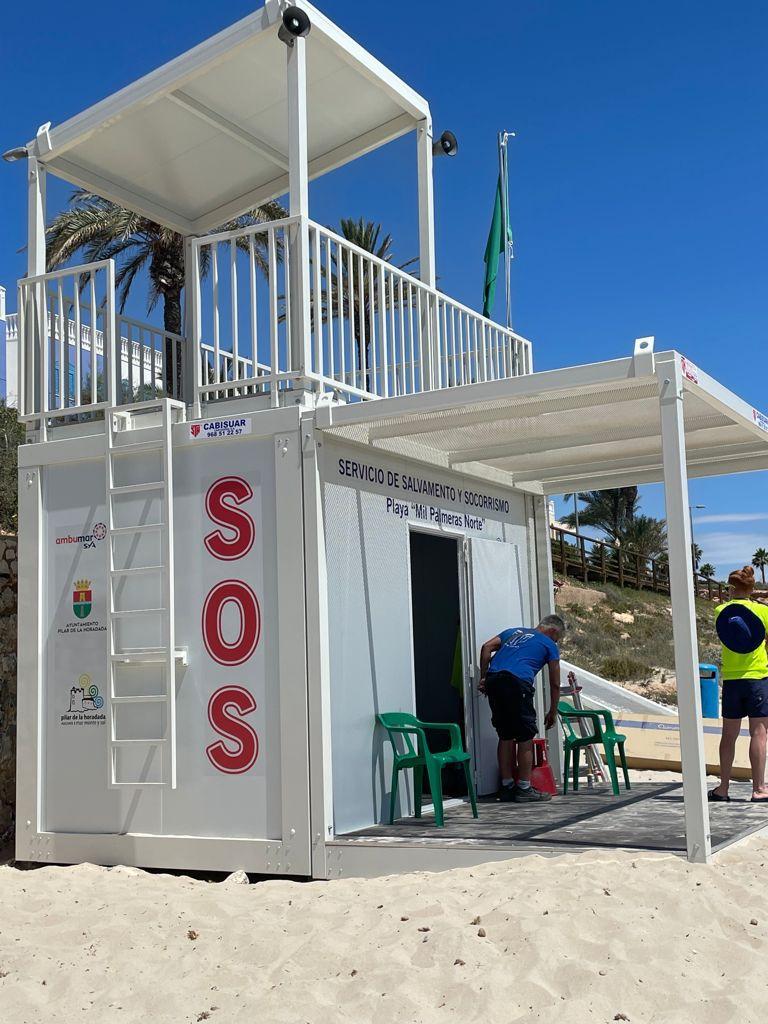 Casetas prefabricadas para socorristas - Proyectos Cabisuar
