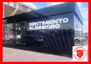 Tienda modular FC Cartagena - Proyectos Cabisuar